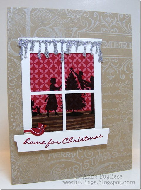 LeAnne Pugliese WeeInklings Happy Scenes Jingle All The Way Christmas Collage Stampin Up