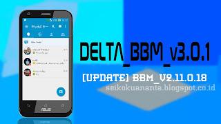 Delta BBM v3.0.2 [Update BBM Android v2.11.0.18]