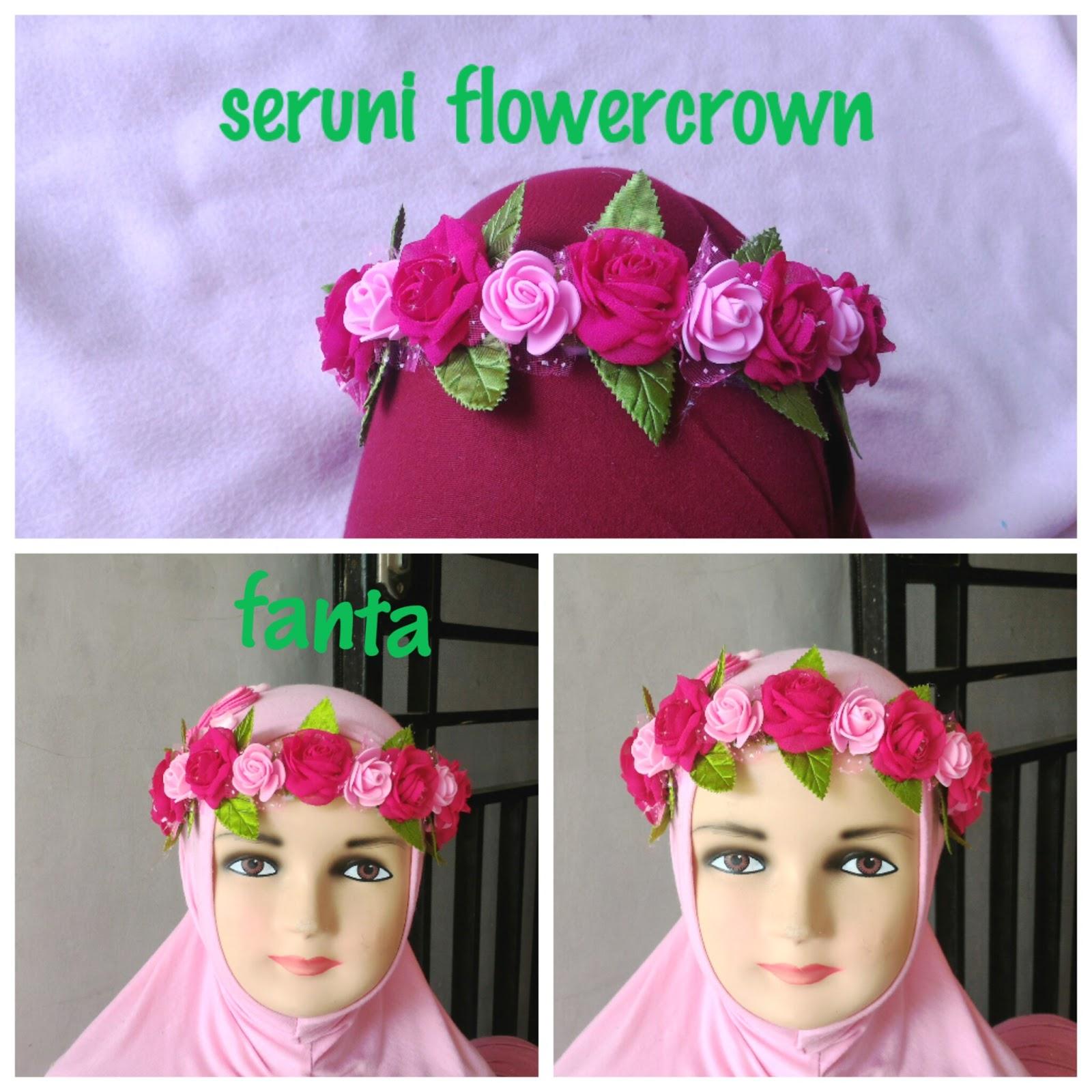 Seruni flowercrown produsen dan supplier aksesoris handmade beli lebih banyak harga nego wa 085640465300 ig rajarajutbros izmirmasajfo