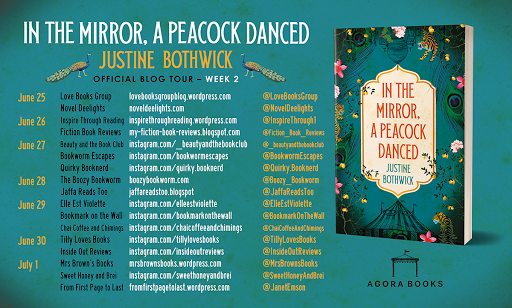 In the Mirror the Peacock Danced Blog Tour