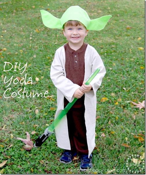 disfraz casero de yoda