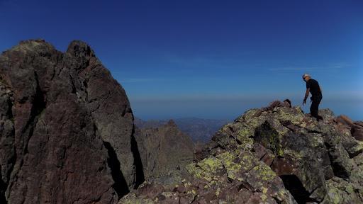 Au sommet de la Pointe Lejosne