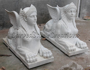 Animal, Exterior, Ideas, Lions, Statues, Winged