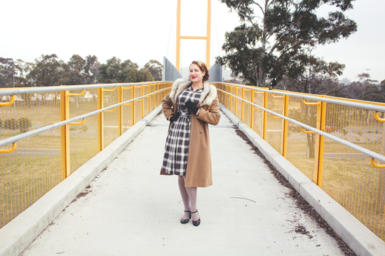Winter vintage style in Australia | Lavender & Twill