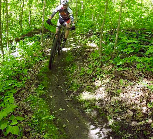 Great riding on the mountain bike course, June 25th, 2017.