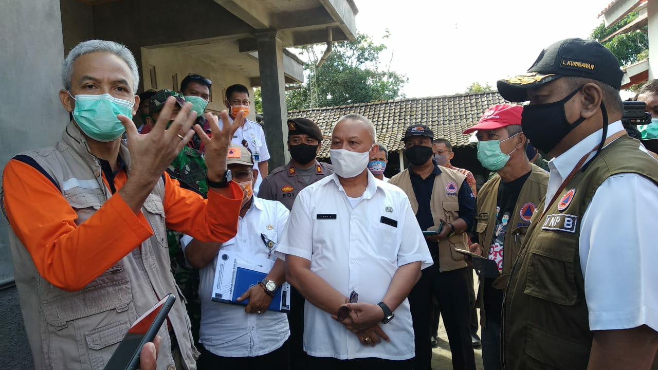 Siaga Aktivitas Merapi, Gubernur Ganjar Pranowo Rencanakan Simulasi Mengungsi