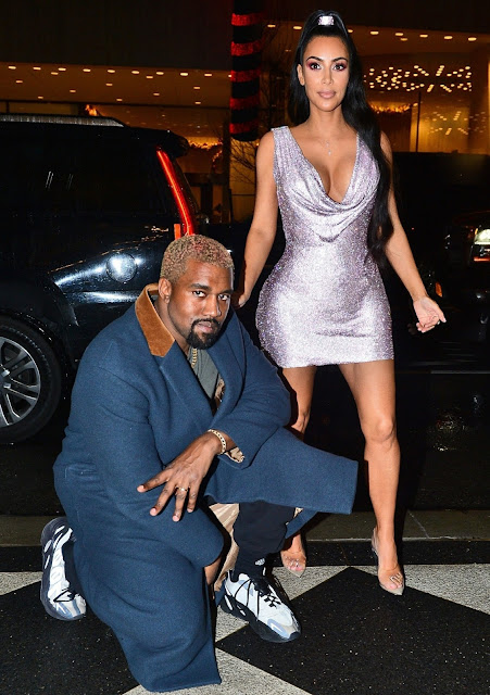 NYC Versace Show: Kim Kardashian And Diane Kruger Came With Their Men