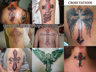 Beautiful Cross Tattoo Designs