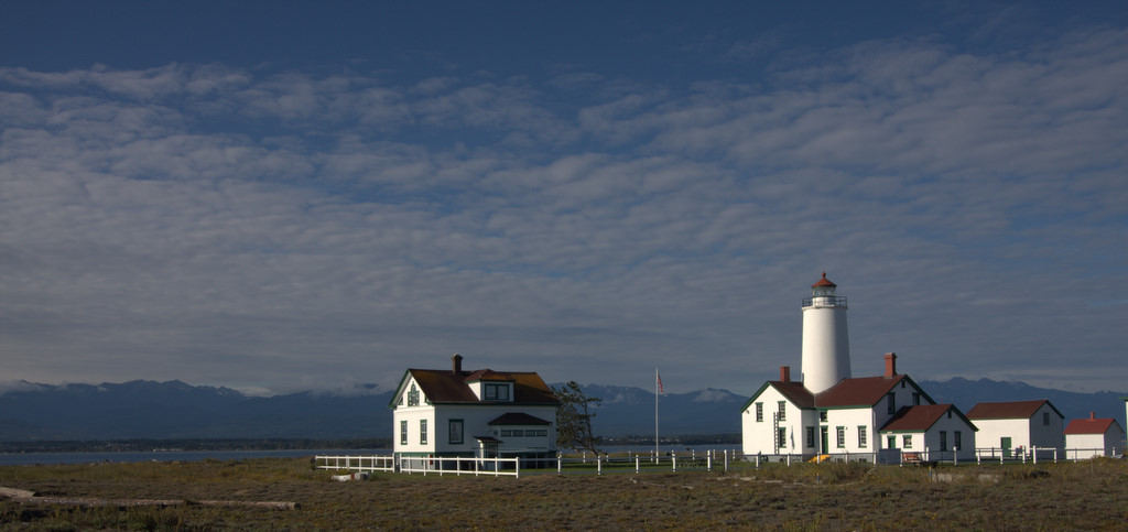 Mary Anne spent a week at the Sequim Light House