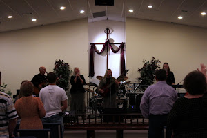 The Templet Family ministering at Alexandria Valley Church of God in Alexandria, AL.