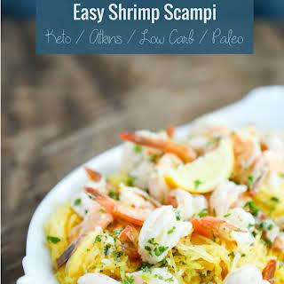 Easy Keto Shrimp Scampi – Low Carb & Paleo.
