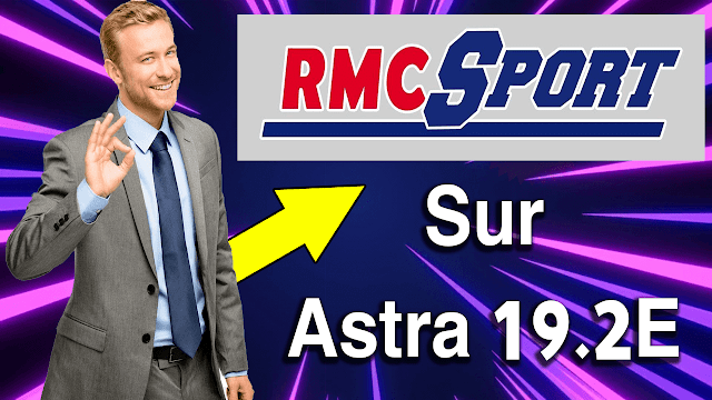 RMC Sports Chaines sportives sur Astra (cryptées) Frequence