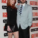 OIC - ENTSIMAGES.COM - Tamar Higgs and Jonathan Sothcott attend the Age of Kill - VIP film Screening inLondon on the 1st April 2015.Photo Mobis Photos/OIC 0203 174 1069
