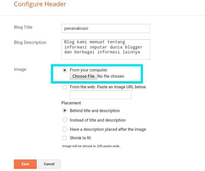 Cara Mudah Memasang Logo Header Blog yang Responsive