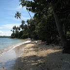 Beach at Mimpi Indah, Banga Island