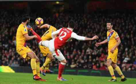 Arsenal vs Crystal Palace Match Highlight