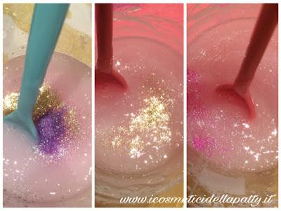 Sali Da Bagno Sephora : Docciaschiuma glitterato fai da te i cosmetici della patty