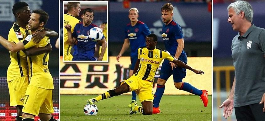 Man Utd Dortmund