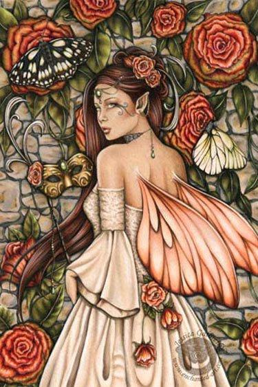 Fairy Of Flowers, Fairies Girls