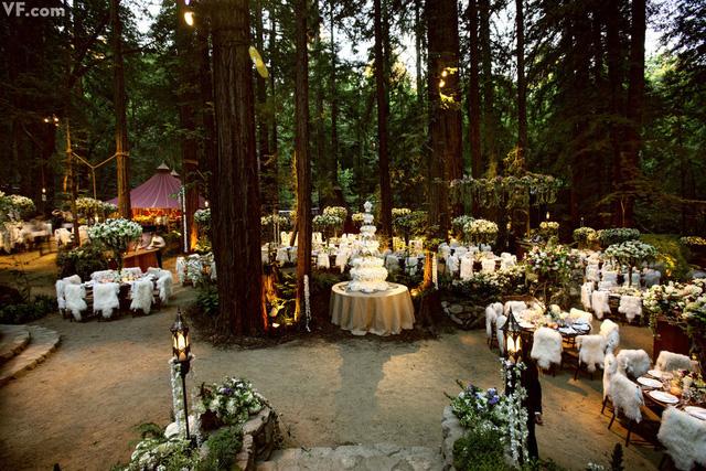 Đám cưới của Sean Parker
