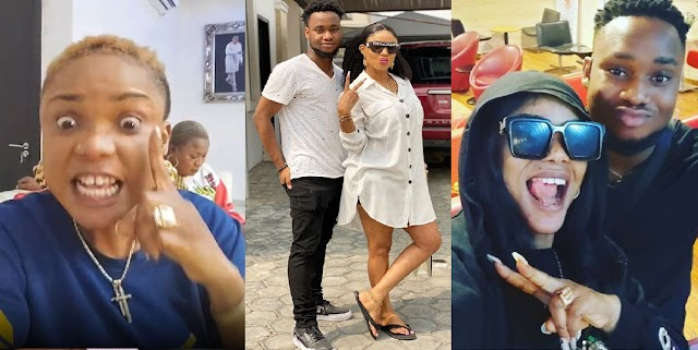 Angry Iyabo Ojo Set to disown her only son, Festus after She Caught him Doing this [Video]