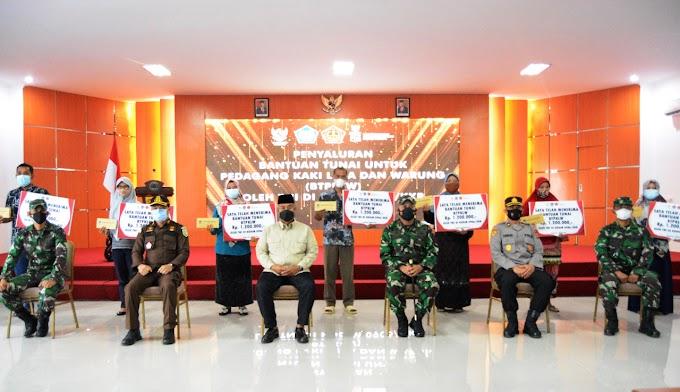 Kodim 0906/Kkr salurkan 2.500 BTPKLW di wilayah kabupaten Kukar