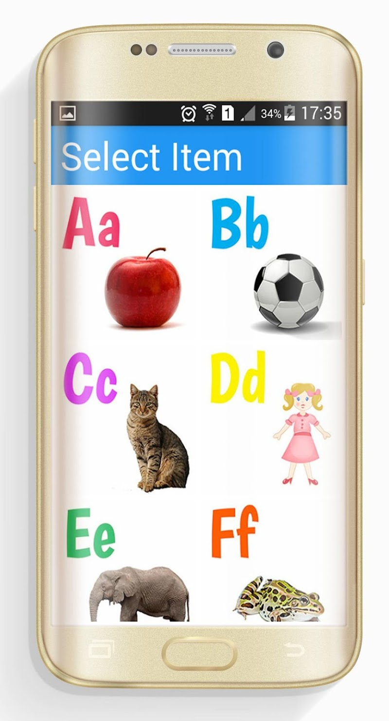 Скриншот Learn ABCD for Kids Free