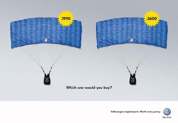 VOLKSWAGEN - publicidad creativa