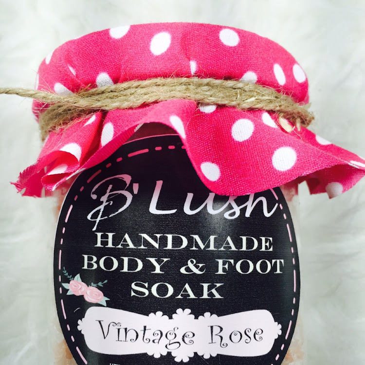 Vintage Rose Bath & Foot Soak by Bedazzled Lush