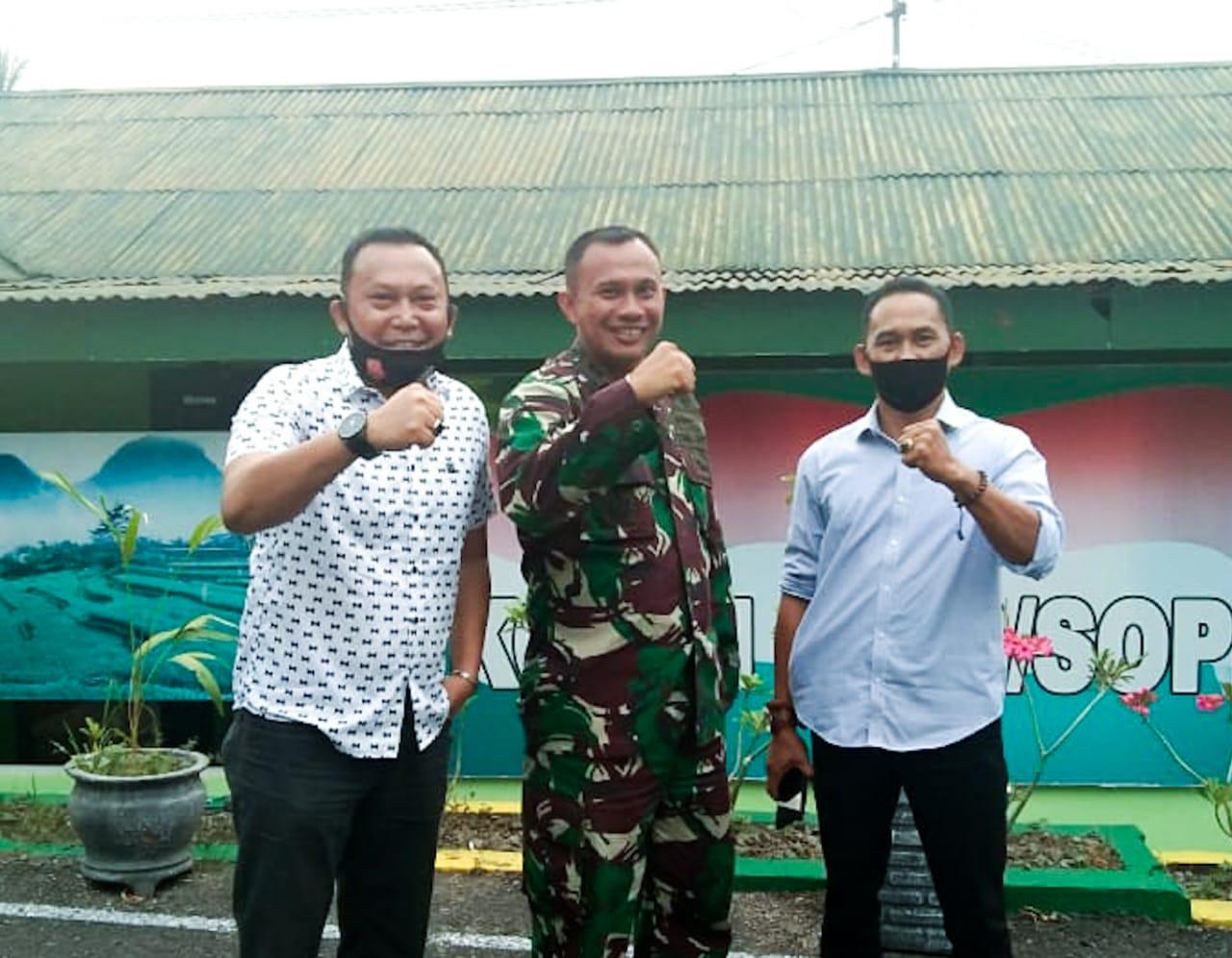 Wawancara Ekslusif IWO Bersama Dandim 1423 Soppeng di Hut TNI Ke-75