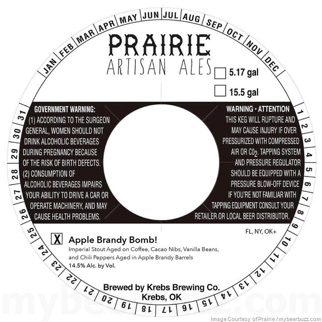 Prairie Artisan Ales - Apple Brandy Bomb! & Apple Brandy Paradise