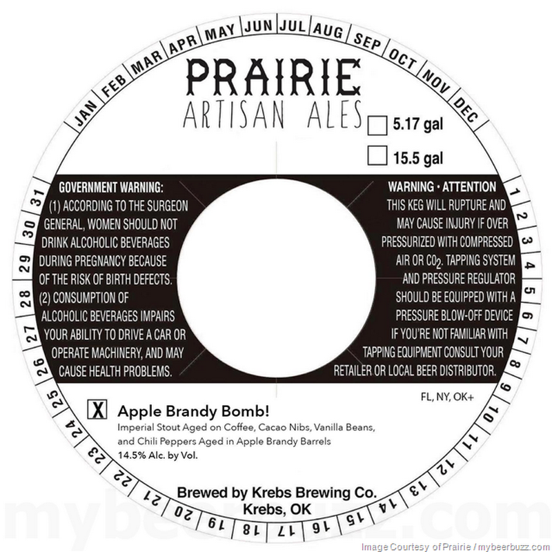 Prairie Artisan Ales - Apple Brandy Bomb! & Apple Brandy Paradise