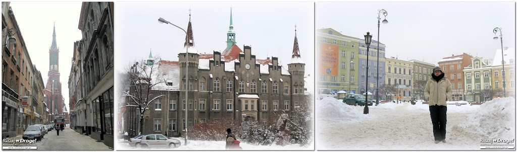 Rynek w Wałbrzychu w 2009 roku