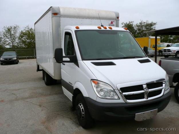 2007 dodge sprinter cargo van specifications pictures prices. Black Bedroom Furniture Sets. Home Design Ideas