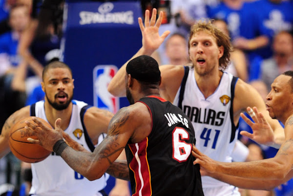 LeBron Gets a Triple Double but Still Not Enough to Beat Mavs