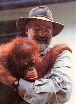 Terry i orangutan