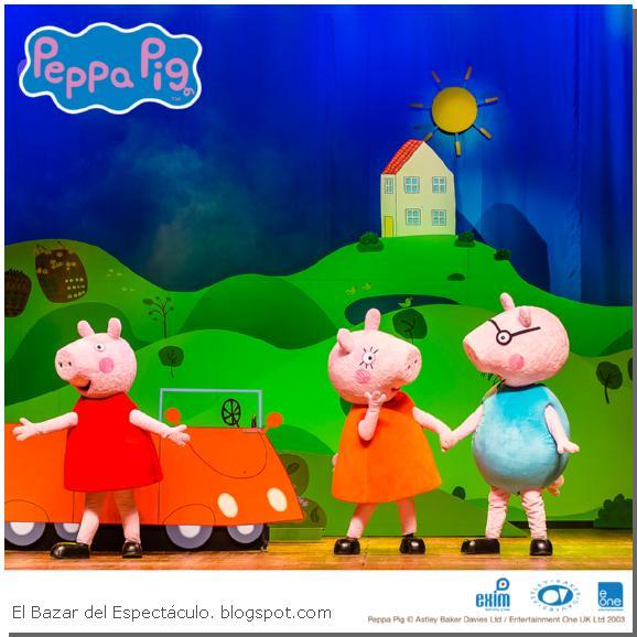 Peppa pig en el teatro opera buenos aires la busqueda del for Espectaculo peppa pig uruguay