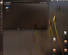 La búsqueda de virus en Ubuntu con Antiviral - Tablero