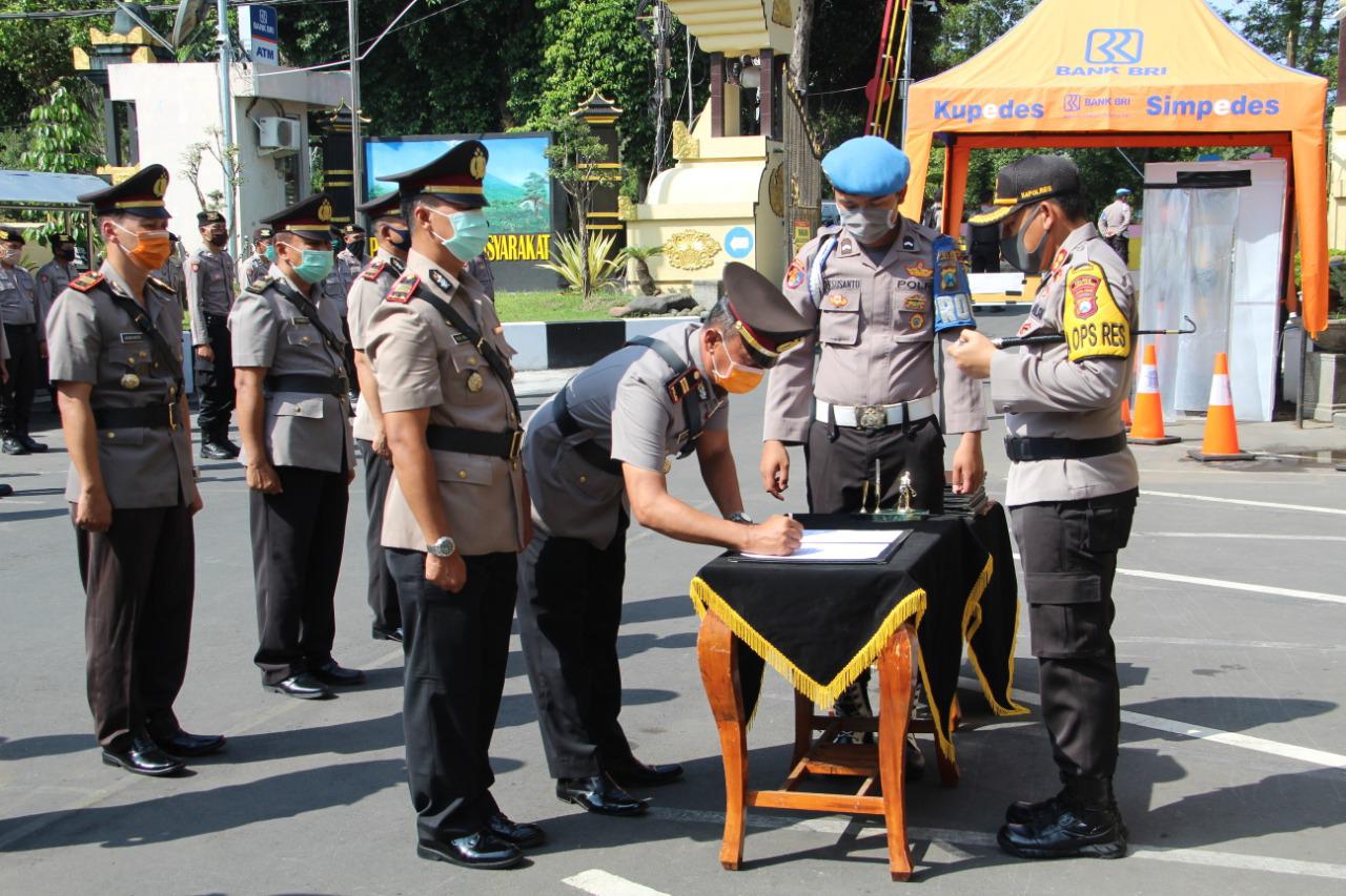Polres Lumajang ' Lukir ' Sejumlah Perwira
