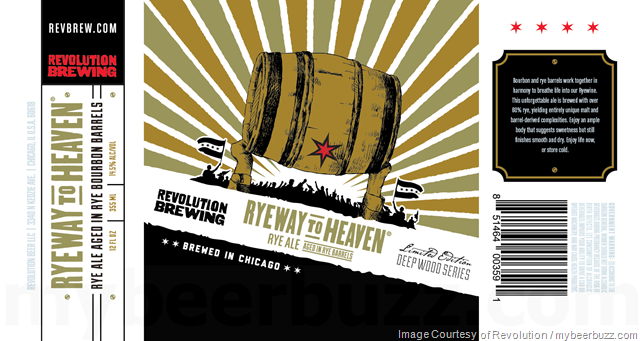 Revolution Brewing Updating Deepwoods Series:  Gravedigger Billy. Deth By Currants, Ryeway To Heaven & V.S.O.J.