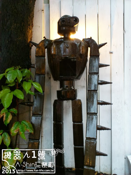 台中機器人一號店:ROBOT STATION(鐵皮駅)特色