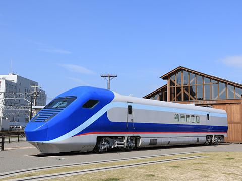 四国鉄道文化館 南館 「フリーゲージトレイン」第2次試験車