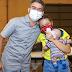 David Almeida acompanha vacinação de jovens com comorbidades