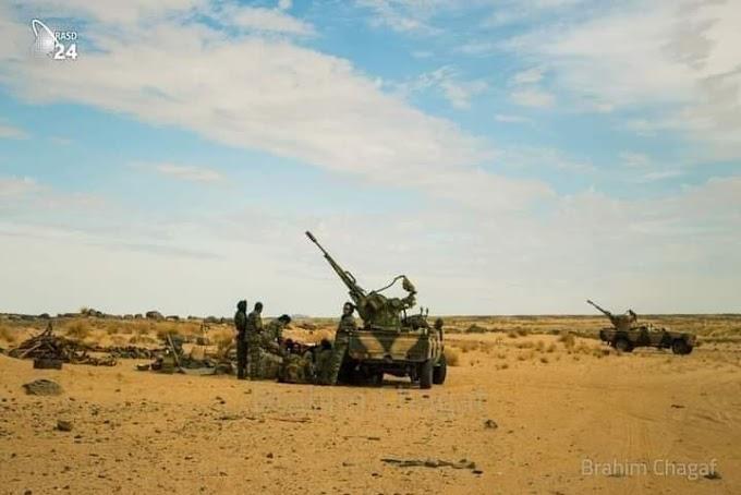 Marruecos saca sus cazas en Mahbes tras ser contrarrestado por el ELPS en el norte del Sáhara Occidental.