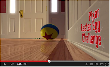 Find Pixar Easter Eggs in the Exclusive #Pixar Easter Egg Challenge