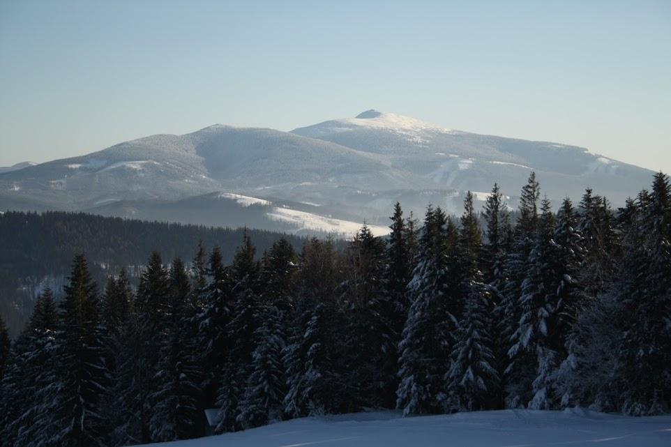 Babia Góra ze szlaku na Pilsko