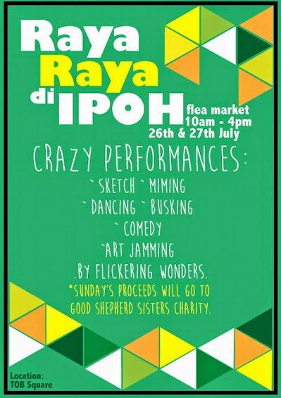 Pre-Event: Raya Raya di Ipoh Bandits' Alley Flea Market