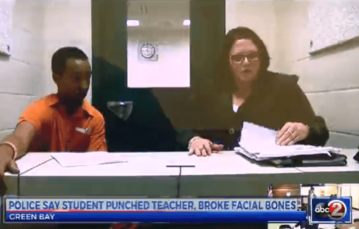 Wisconsin Muslim high school student charged in attack on teacher
