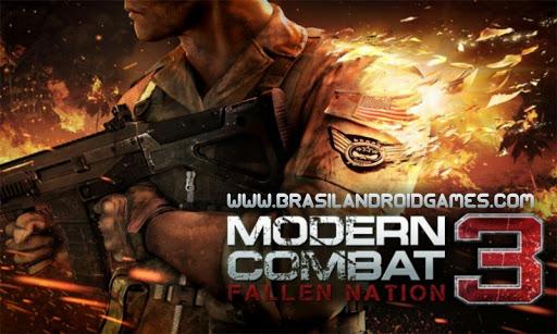Download Modern Combat 3: Fallen Nation v1.1.6b APK + OBB + DINHEIRO INFINITO Grátis - Jogos Android