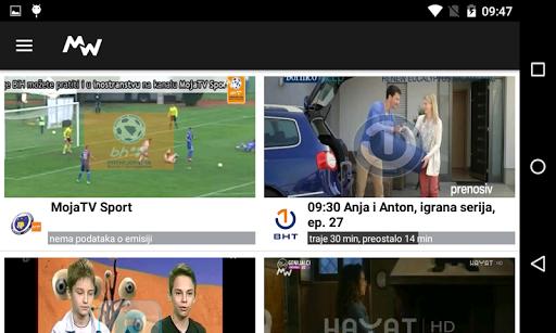 Moja webTV  screenshots 3